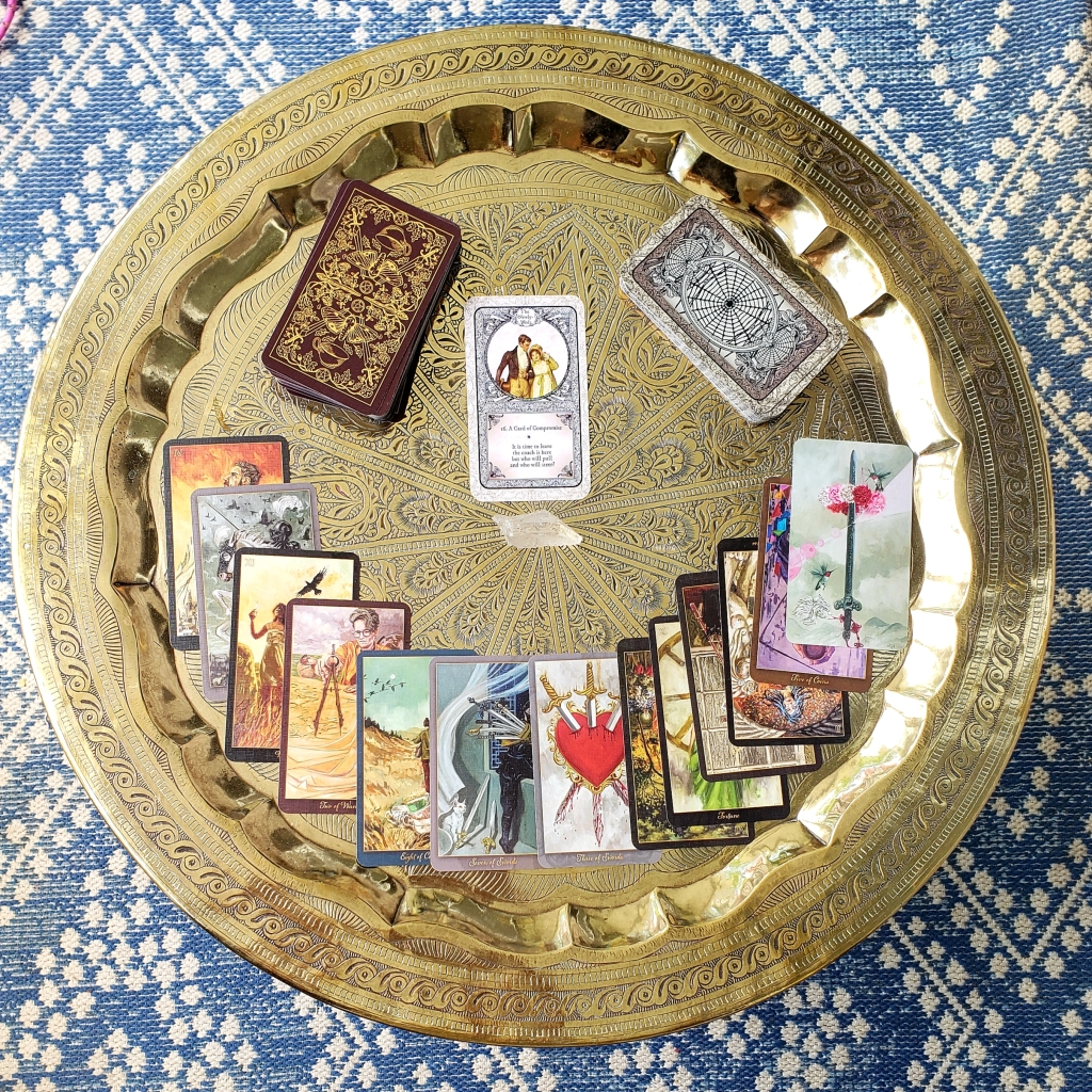 Detailed and extensive tarot reading for help in solving life problems. 14 card tarot reading from a real tarot reader. Discover what message the tarot cards have for you and order a tarot reading.