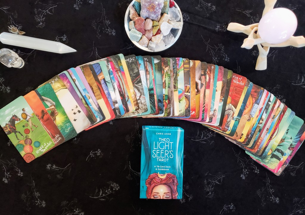 Tarot readings available from a professional tarot reader with 28 years experience.  Hoe many tarot cards would you like?
