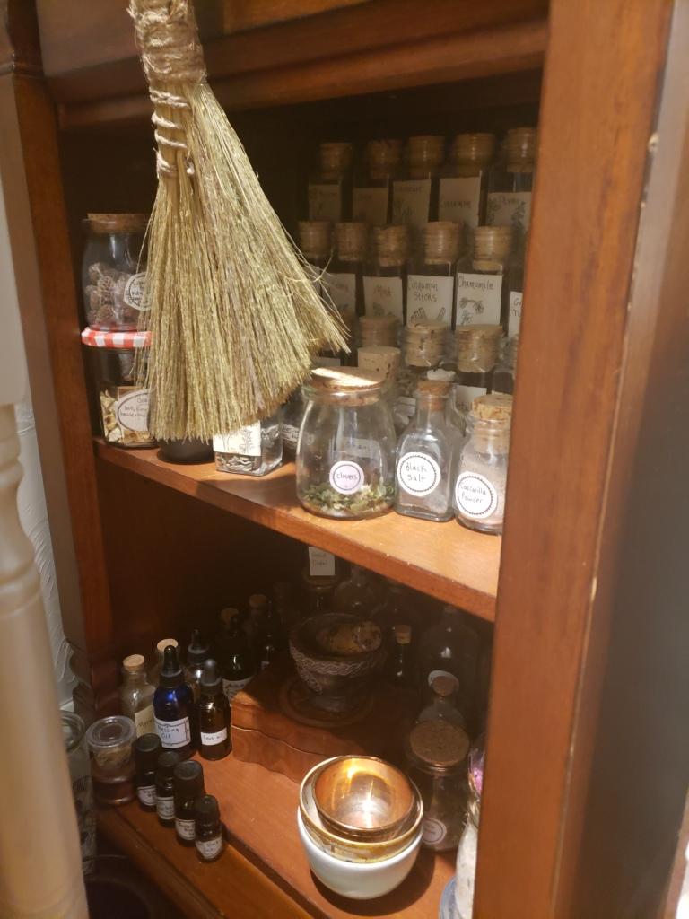 apothecary herb storage
